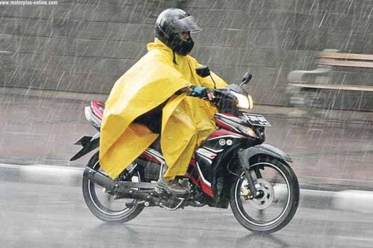 motor hujan