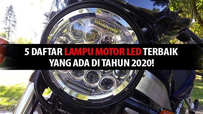 Lampu motor LED